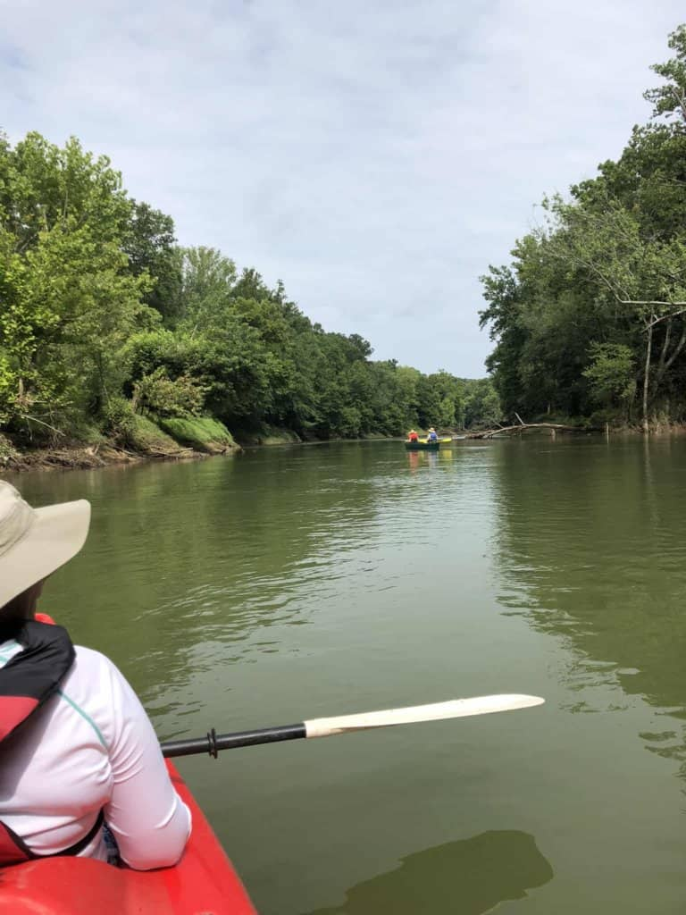 Kayaking on the Green River