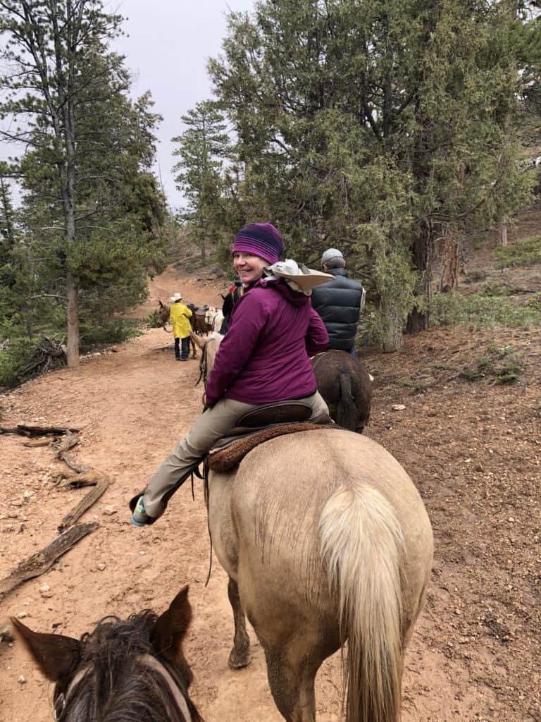 Horseback riding at Bryce Canyon National Park