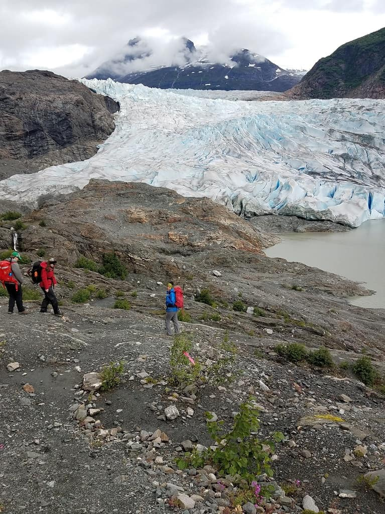 Entrance to Mendenhall Glacier
