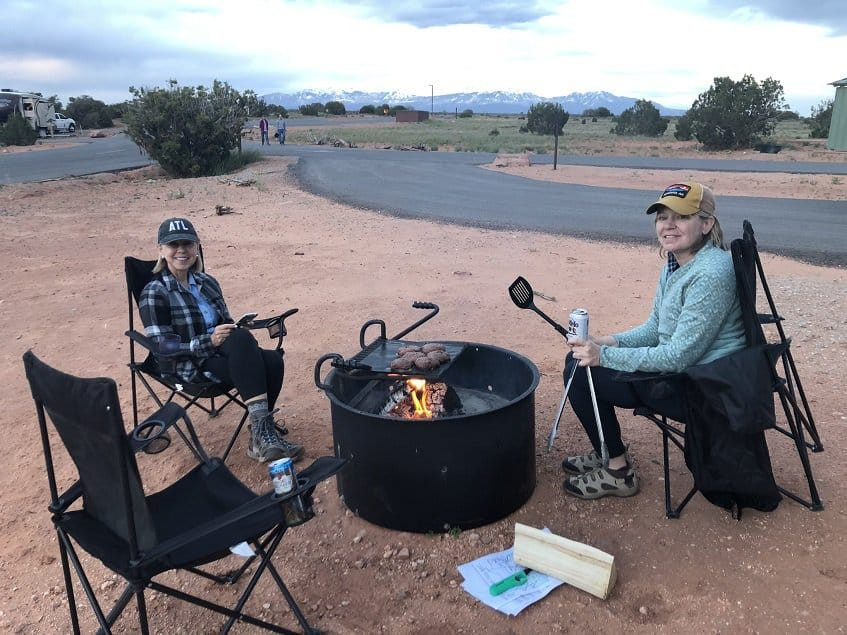 Camping at Dead Horse Point State Park