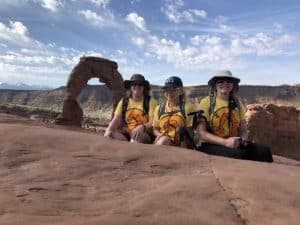 After our Delicate Arch hike