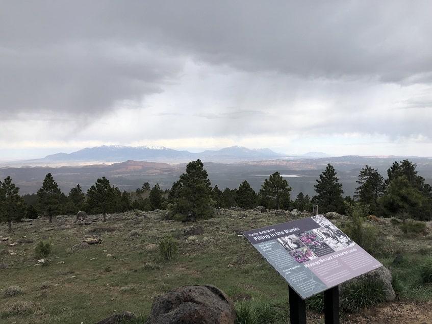 Scenic overlook alone Scenic Route 12
