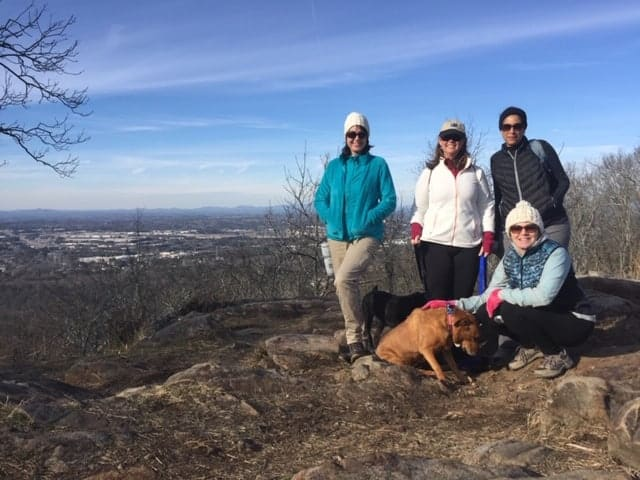 Hiking at Kennesaw Mountain