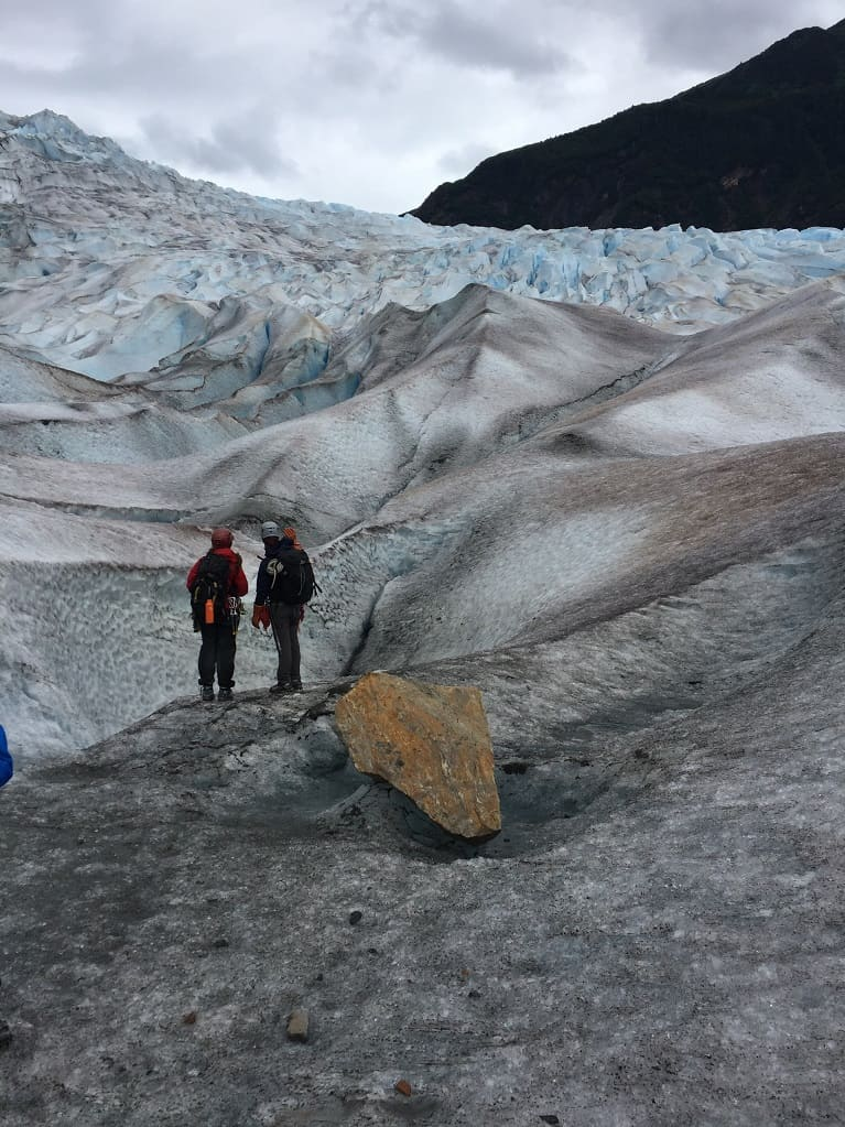 Glacier walk at Mendenhall Glacier