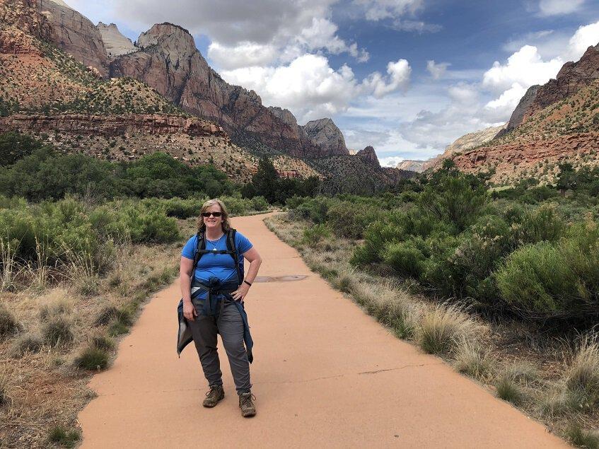 Parius Trail at Zion National Park