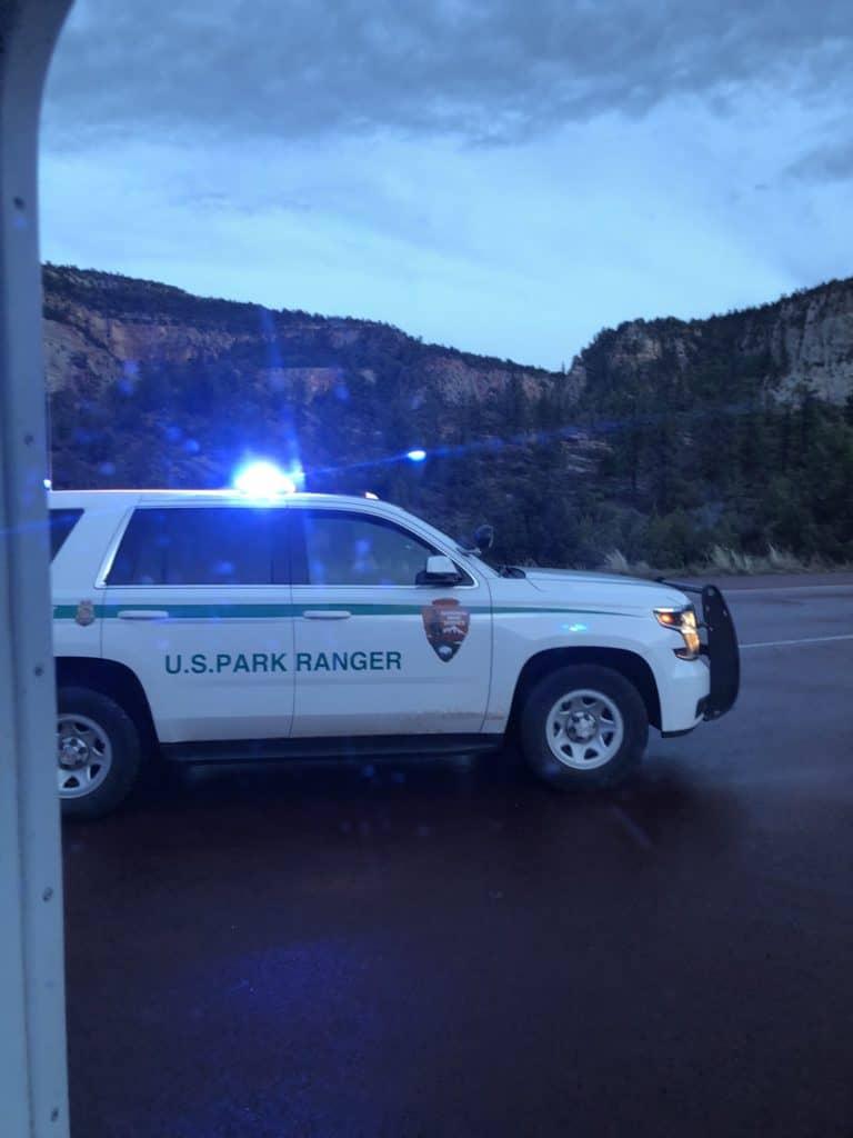 National Park Ranger at Zion National Park