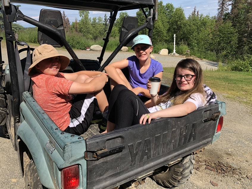 ATVing around Talkeetna