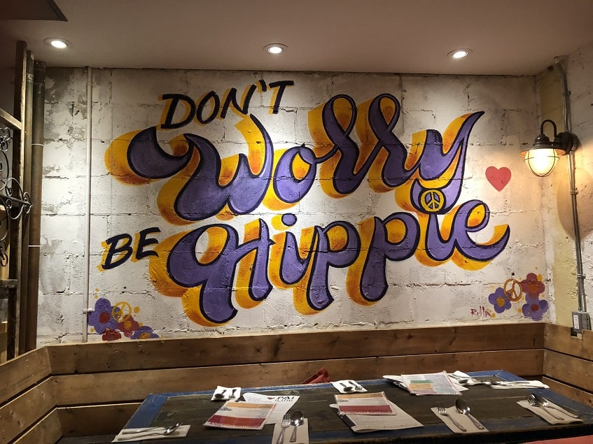 Don't Worry be Hippie at Pai