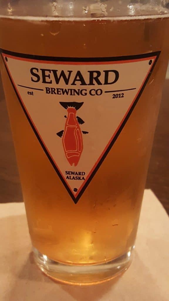 Beer at Seward Brewing Company