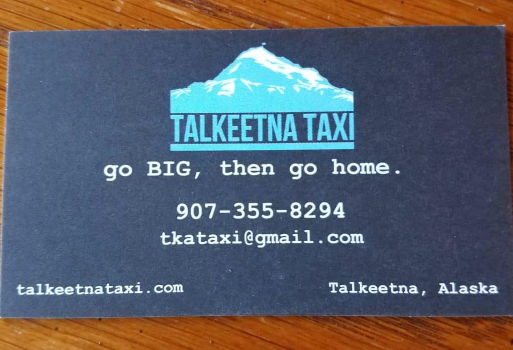 Talkeetna Taxi contact info